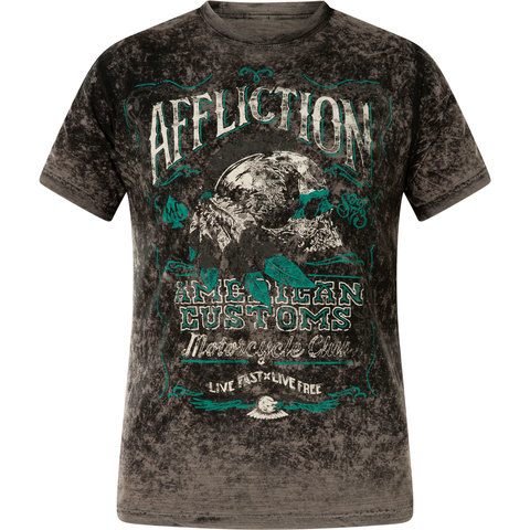 Футболка Affliction Nativ Rye Rev двусторонняя