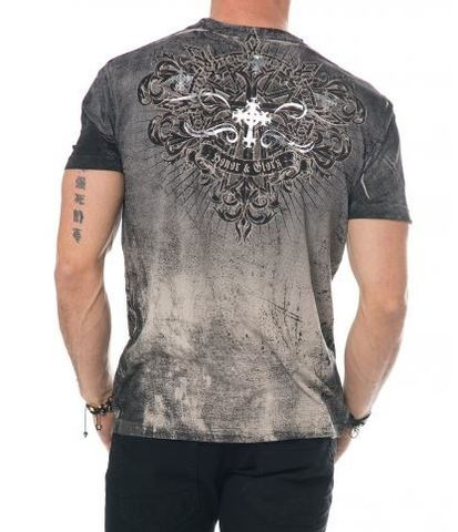 Xtreme Couture   Футболка мужская Ringmaster X1417 от Affliction спина