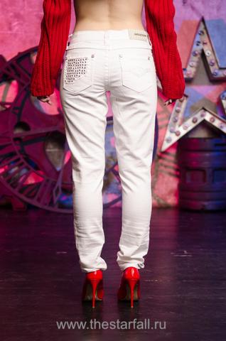 Белые женские джинсы Affliction 111SK047