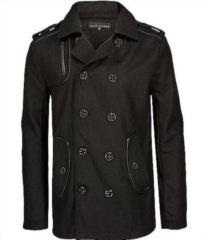 Affliction | Пальто мужское Black Premium Inception Coat 10OW465B перед