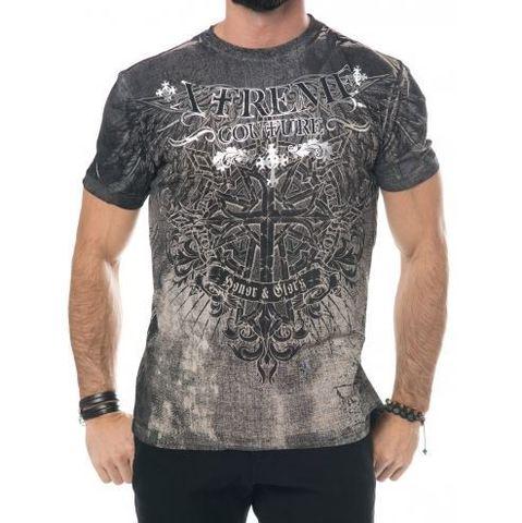Xtreme Couture   Футболка мужская Ringmaster X1417 от Affliction перед