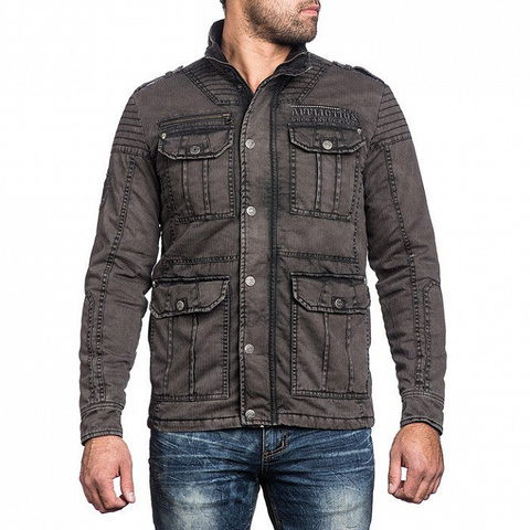 Куртка Affliction WINDOW PANE 110OW243 перед