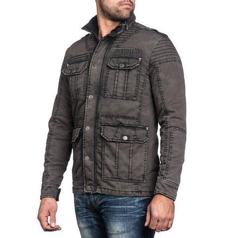 Куртка Affliction WINDOW PANE 110OW243 левый бок