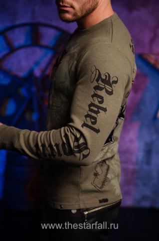 Пуловер Rebel Spirit TH246 левый бок