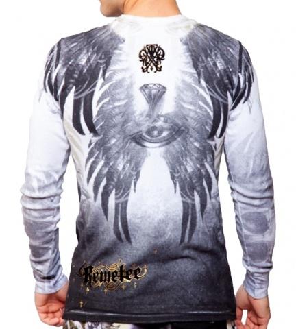 Remetee | Пуловер мужской RM2849 от Affliction сзади