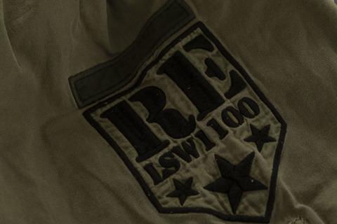 Рубашка Rebel Spirit LSW111100 нашивка на рукаве