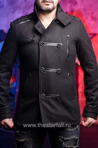 Affliction | Пальто мужское BASSLINE 110OW070 перед