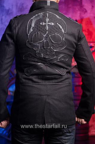 Affliction | Пальто мужское BASSLINE 110OW070 спина