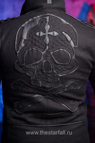 Affliction | Пальто мужское BASSLINE 110OW070 аппликация на спине