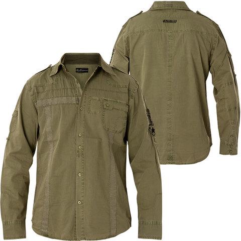 Рубашка Rebel Spirit LSW111100 перед и спина
