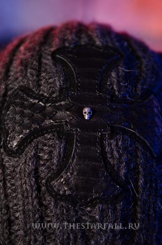 Шапка и шарф Glow от 7.17 Studio Luxury шапка перед
