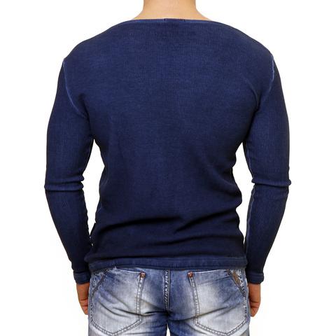 PAINKILLER | Пуловер мужской LONGMOD1 спина