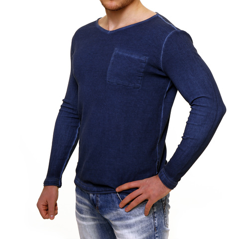 PAINKILLER | Пуловер мужской LONGMOD1 левый бок