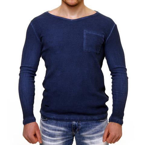 PAINKILLER | Пуловер мужской LONGMOD1 перед на модели