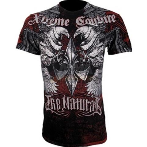 Xtreme Couture | Футболка мужская Osiris in Red/Black X535 от Affliction перед