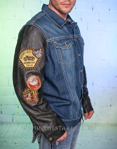 Куртка джинсовая Robin's Jean Cherokee Green правый бок