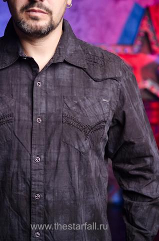 Affliction   Рубашка мужская A226884 передний карман