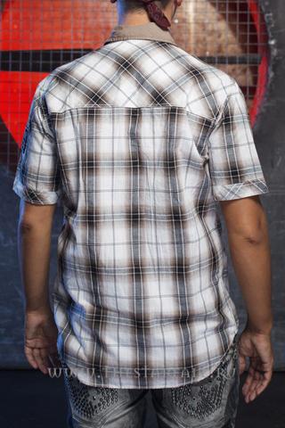 Remetee   Рубашка мужская RM253 спина