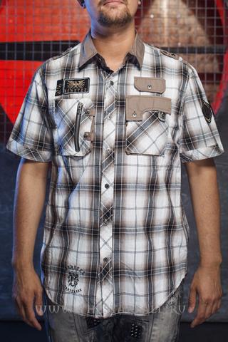 Remetee   Рубашка мужская RM253 перед