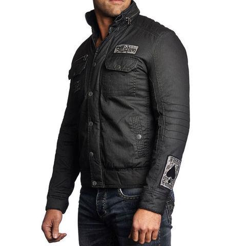 Affliction   Куртка мужская Blaze Jacket 110OW210 левый бок