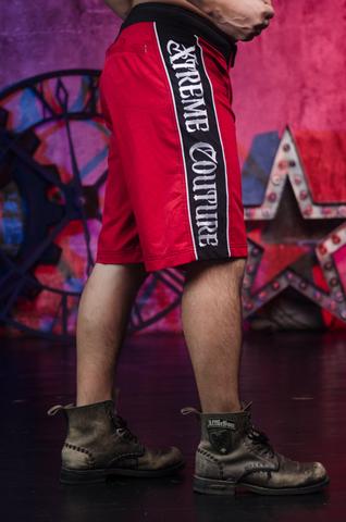 Xtreme Couture | Шорты мужские Venot Red от Affliction правый бок