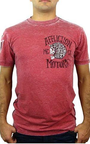 Affliction   Футболка мужская Motor CO A11891 перед