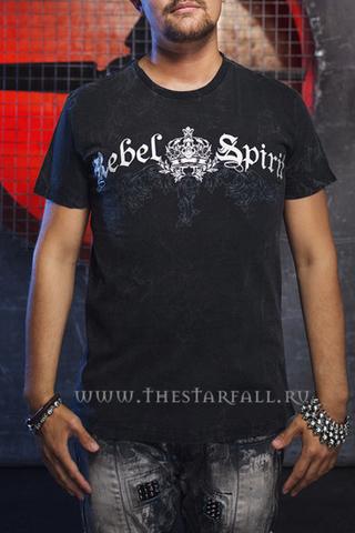 Футболка Rebel Spirit SSK111029 перед на модели
