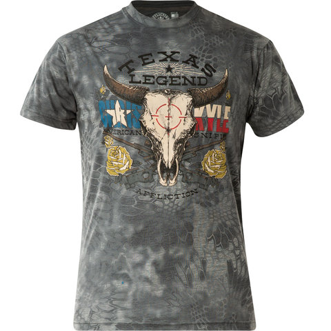 Футболка Affliction CK Bullheaded