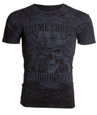 Xtreme Couture | Футболка мужская DEAD OR ALIVE X193 от Affliction перед