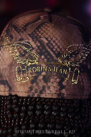 Бейсболка Robin's Jean 35371 перед детально клёпки
