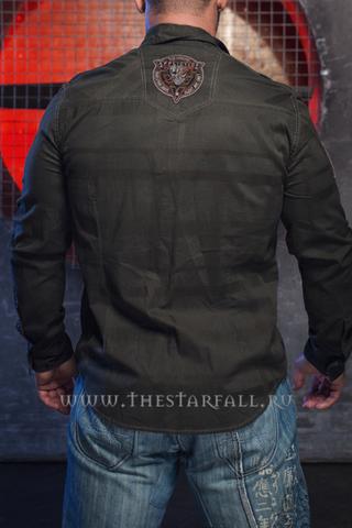 Affliction | Рубашка мужская A35325 спина
