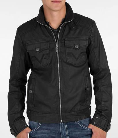 Affliction | Куртка мужская Black Premium Riverbend Jacket 110OW015 перед