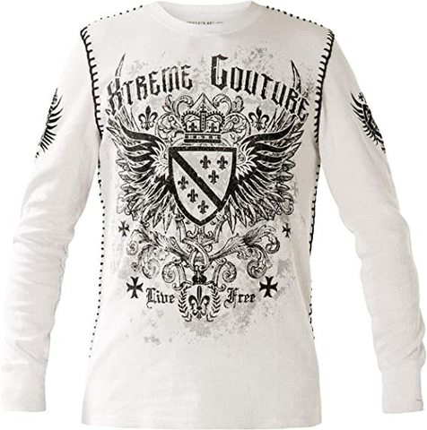 Пуловер Legion White Thermal Xtreme Couture от Affliction