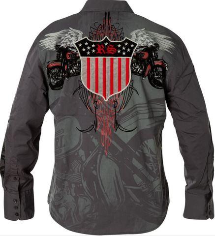 Рубашка Rebel Spirit LSW121392 спина