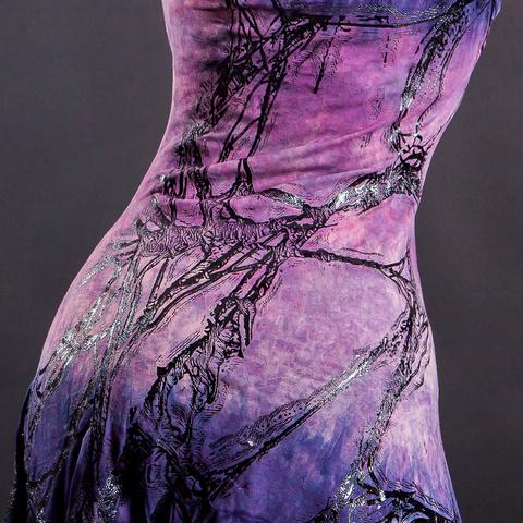 Платье Roots-Dress от Sanbenito S00 принт в нижней части