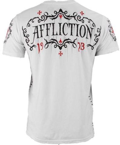 Affliction | Футболка мужская Tried Fate A10112 спина