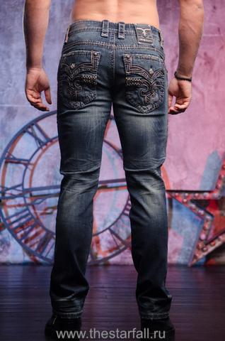 Мужские джинсы NOAH A5 ALT STRAIGHT CUT JEAN Rock Revival из америки