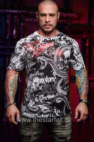 Купить футболку Xtreme Couture от Affliction BLACKTOOTH WHITE