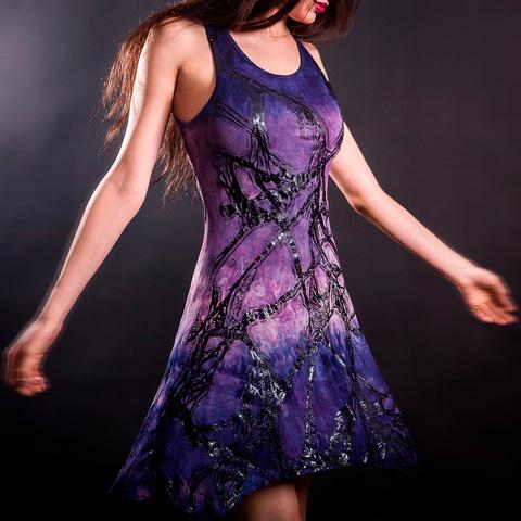 Платье Roots-Dress от Sanbenito S00 перед на модели