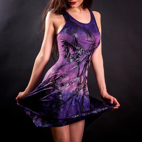 Платье Roots-Dress от Sanbenito S00 перед в движении