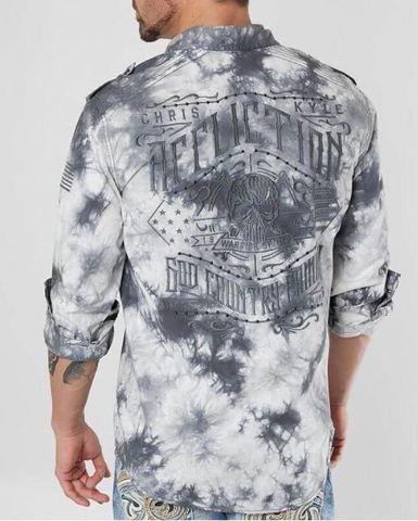 Рубашка Affliction Archaic Stretch