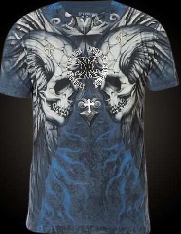 Xtreme Couture   Футболка мужская Silent Scream X1250 от Affliction перед
