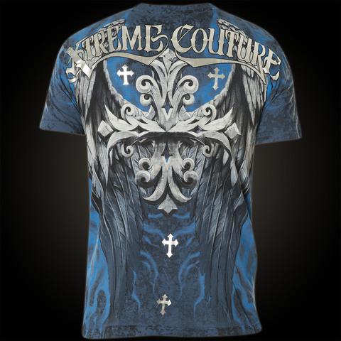Xtreme Couture   Футболка мужская Silent Scream X1250 от Affliction спина