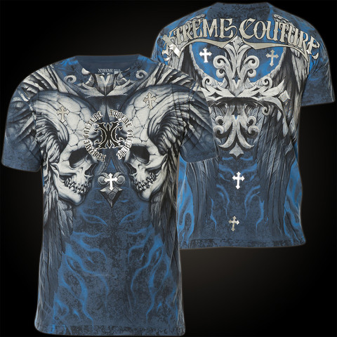 Xtreme Couture   Футболка мужская Silent Scream X1250 от Affliction перед и спина