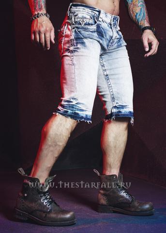 Rock Revival | Шорты мужские джинсовые RAND H403 SHORTS TJ1629H403 правый бок
